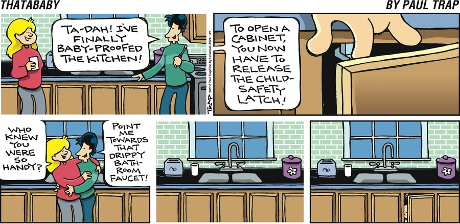 Thatababy for Jan 27, 2013 Comic Strip