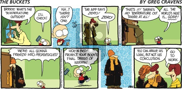 The Buckets on Sunday January 19, 2020 Comic Strip
