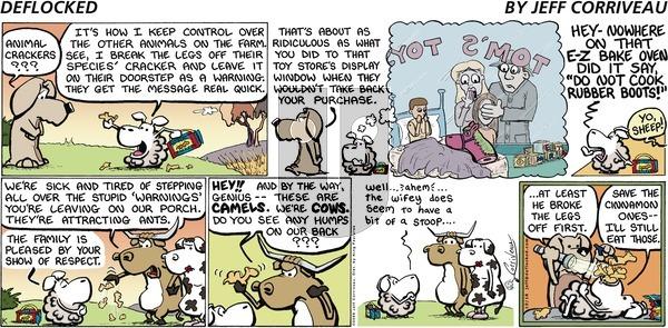 DeFlocked on Sunday October 18, 2009 Comic Strip