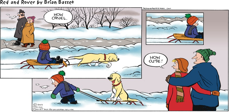 Red and Rover for Jan 27, 2013 Comic Strip