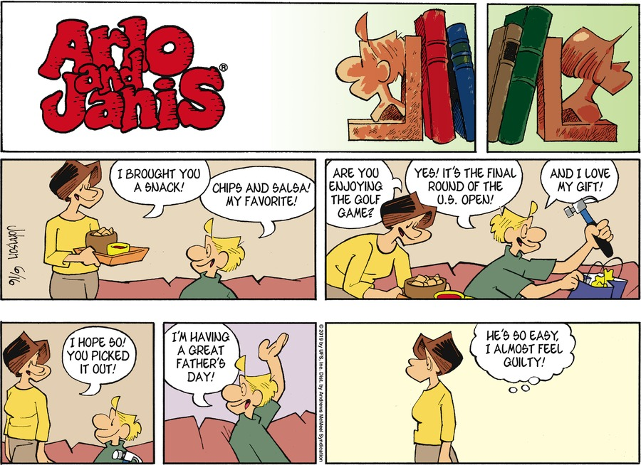 Arlo and Janis Comic Strip for June 16, 2019