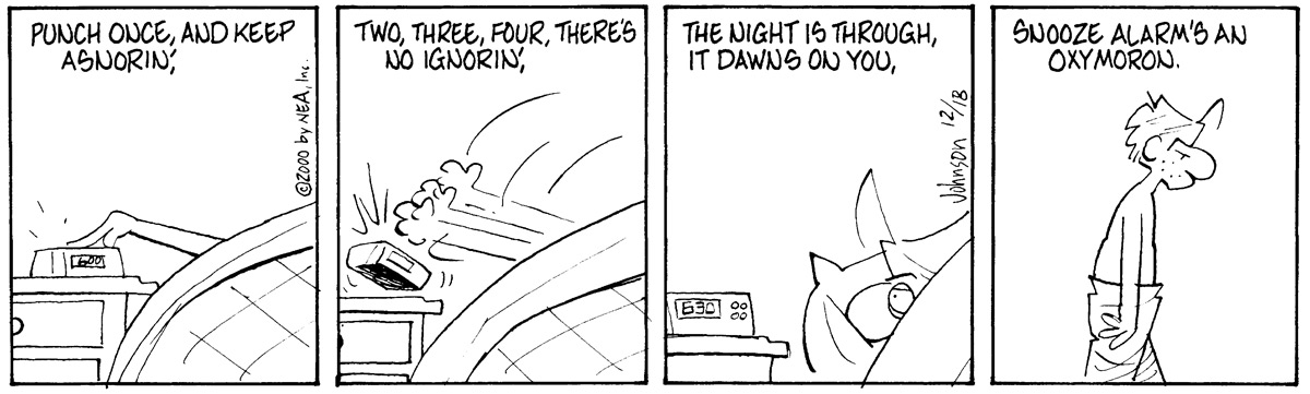 Arlo and Janis Comic Strip for December 18, 2000