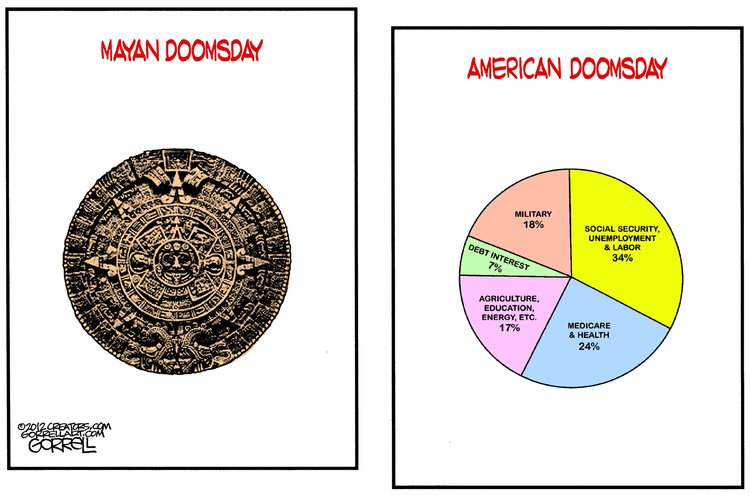 Bob Gorrell Comic Strip for November 20, 2012
