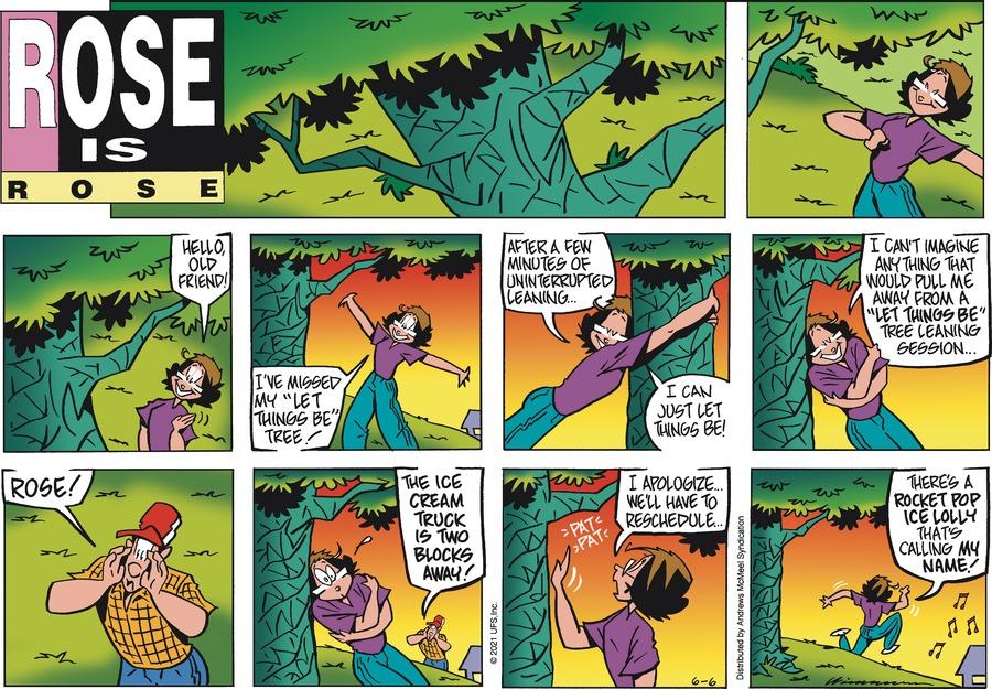 Rose is Rose Comic Strip for June 06, 2021