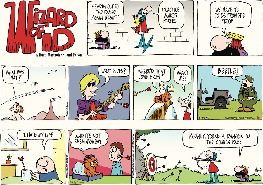 Wizard of Id for Mar 18, 2018 Comic Strip