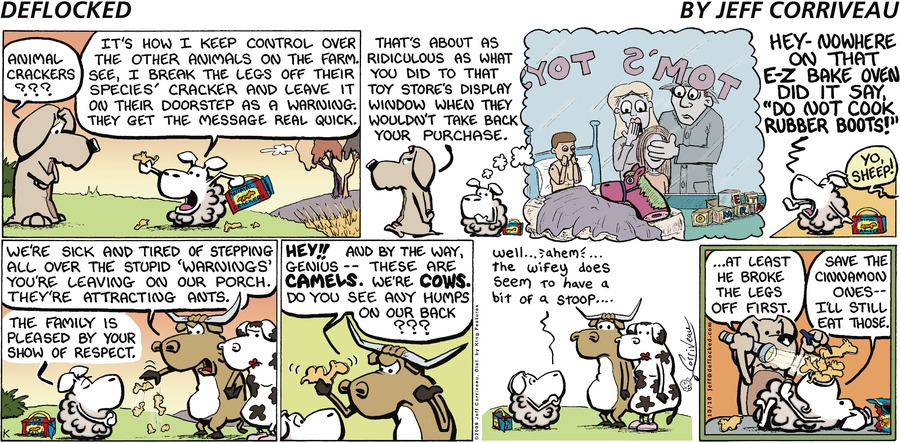 DeFlocked Comic Strip for October 18, 2009