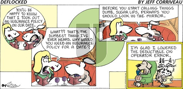 DeFlocked on Sunday March 29, 2020 Comic Strip