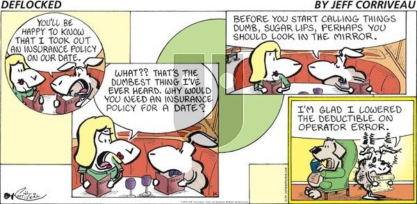 DeFlocked - Sunday March 29, 2020 Comic Strip