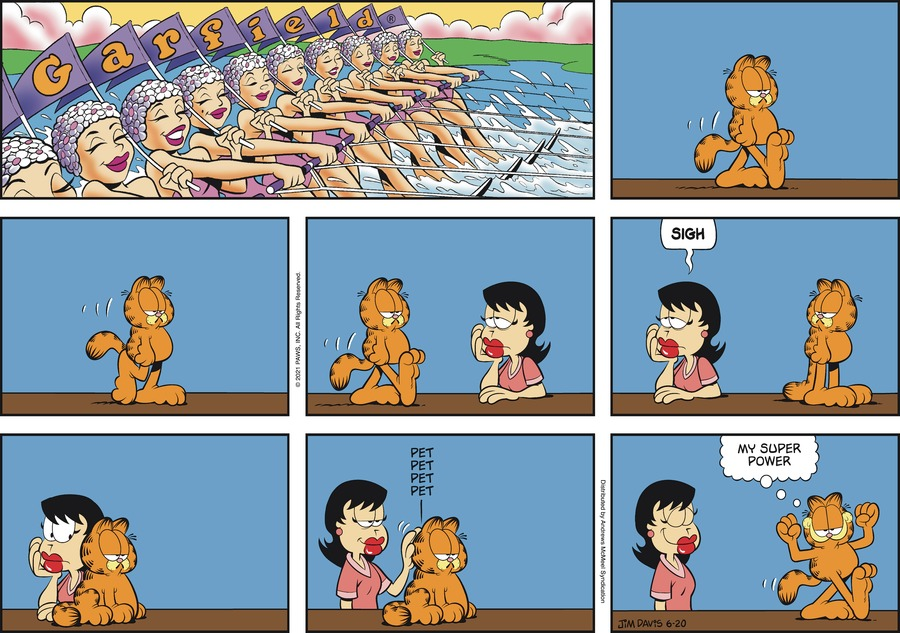Garfield Comic Strip for June 20, 2021