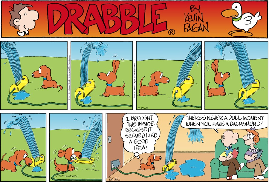 Drabble Comic Strip for September 15, 2019