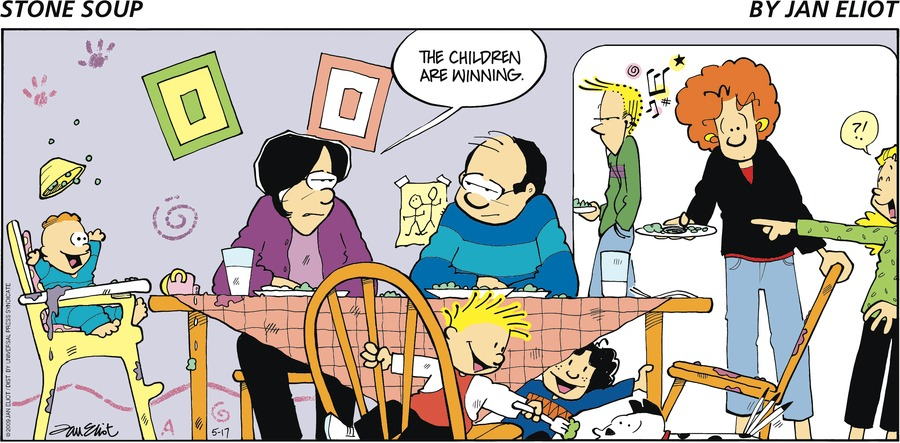 Stone Soup for May 17, 2009 Comic Strip
