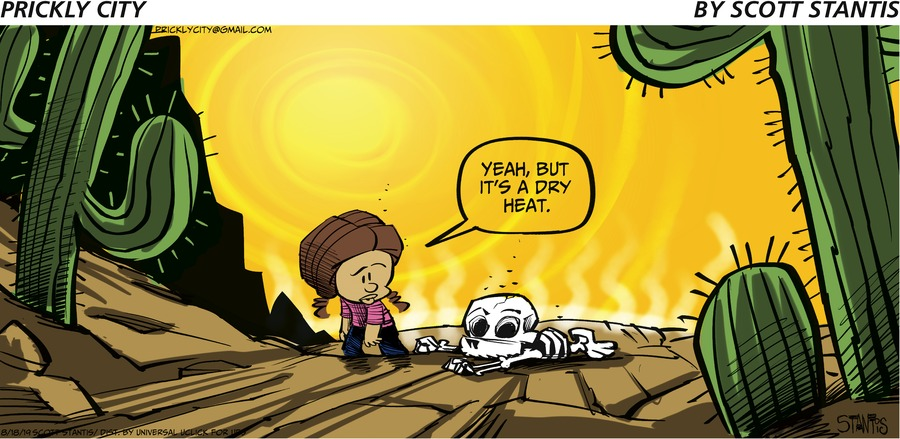 Prickly City Comic Strip for August 18, 2019