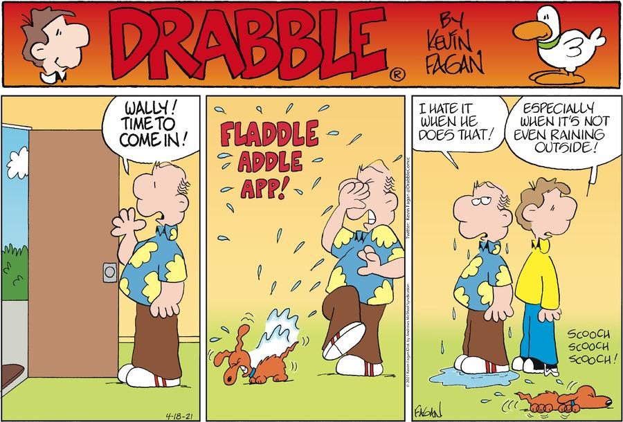 Drabble by Kevin Fagan on Sun, 18 Apr 2021