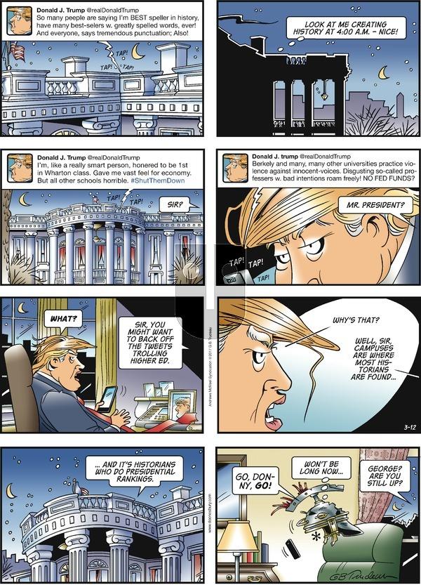 Doonesbury on Sunday March 12, 2017 Comic Strip