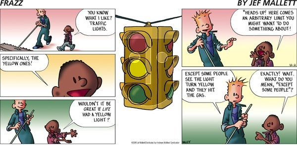 Frazz on Sunday December 2, 2018 Comic Strip