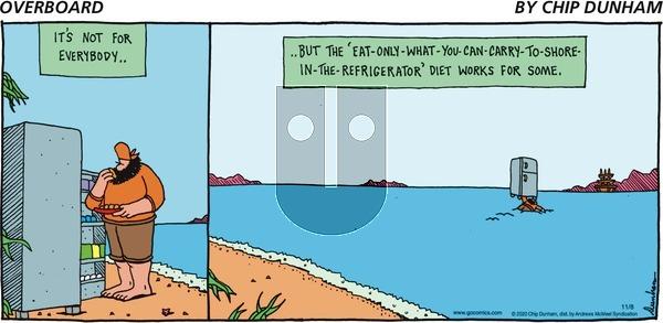 Overboard on Sunday November 8, 2020 Comic Strip