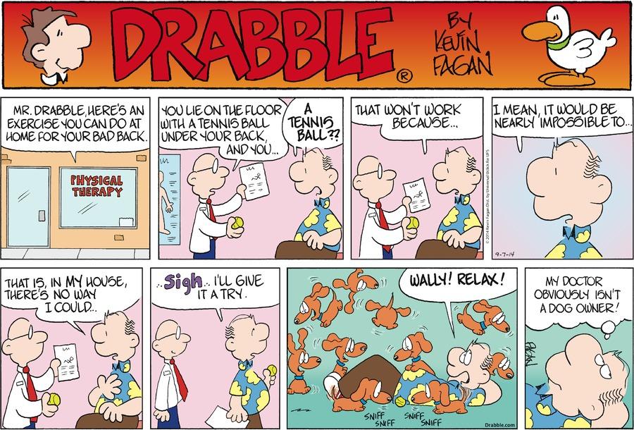 Drabble Comic Strip for September 07, 2014