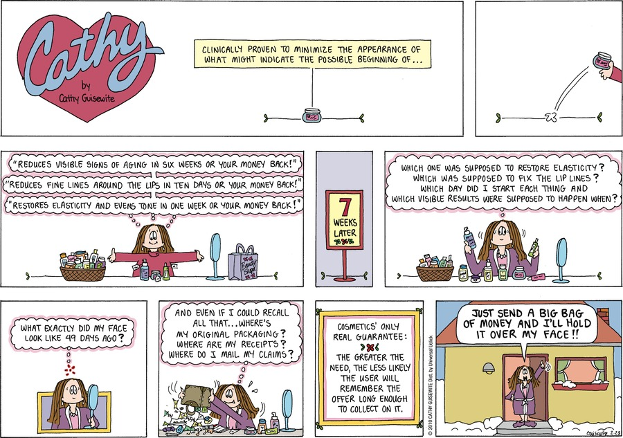 Cathy Classics by Cathy Guisewite on Sun, 28 Feb 2021