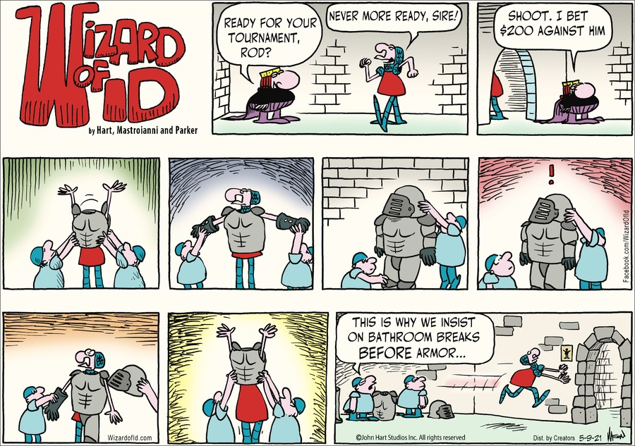 Wizard of Id Comic Strip for May 09, 2021
