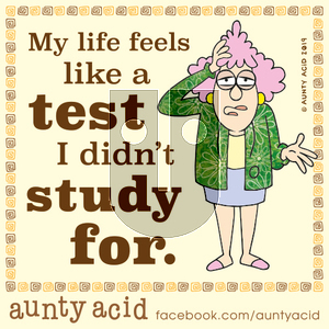 Aunty Acid on Saturday October 19, 2019 Comic Strip