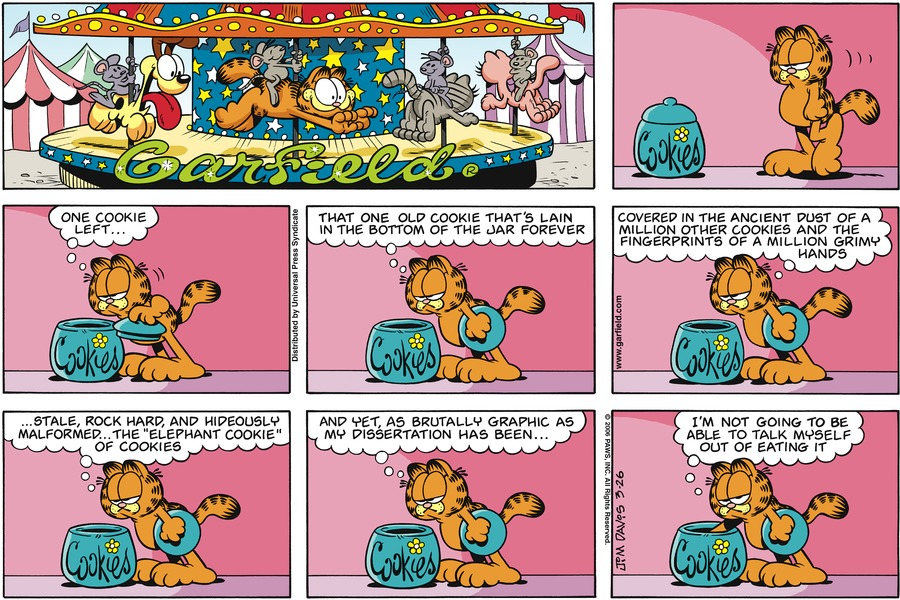 Garfield Comic Strip for March 26, 2006