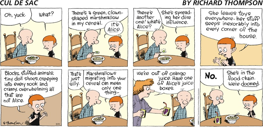 Cul de Sac Comic Strip for June 25, 2017