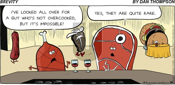 Brevity on Sunday August 4, 2019 Comic Strip