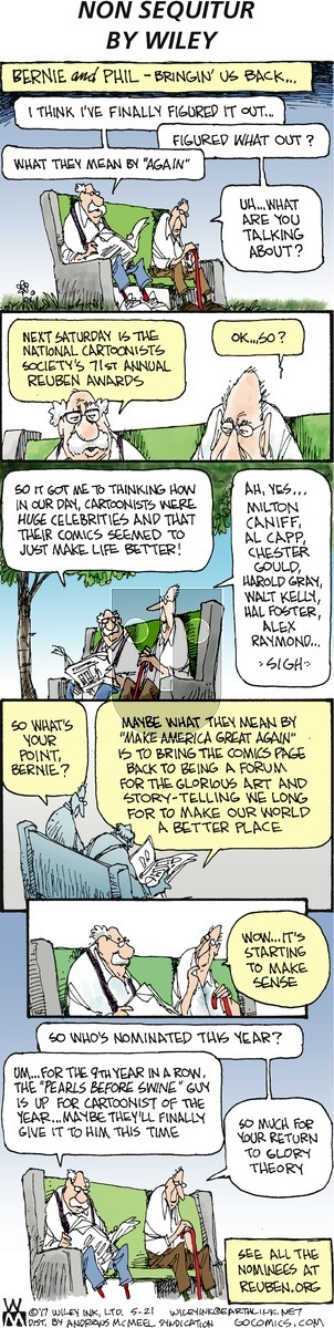 Non Sequitur on Sunday May 21, 2017 Comic Strip