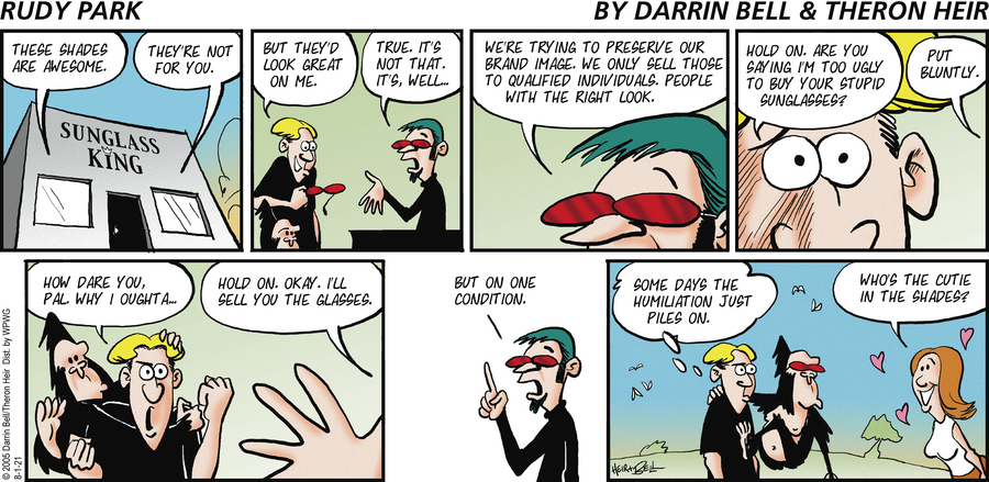 Rudy Park Comic Strip for August 01, 2021