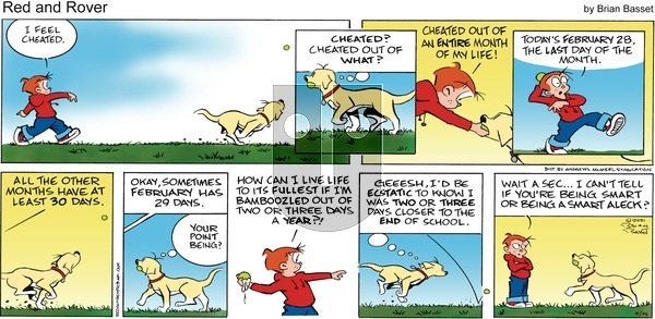 Red and Rover on Sunday February 28, 2021 Comic Strip
