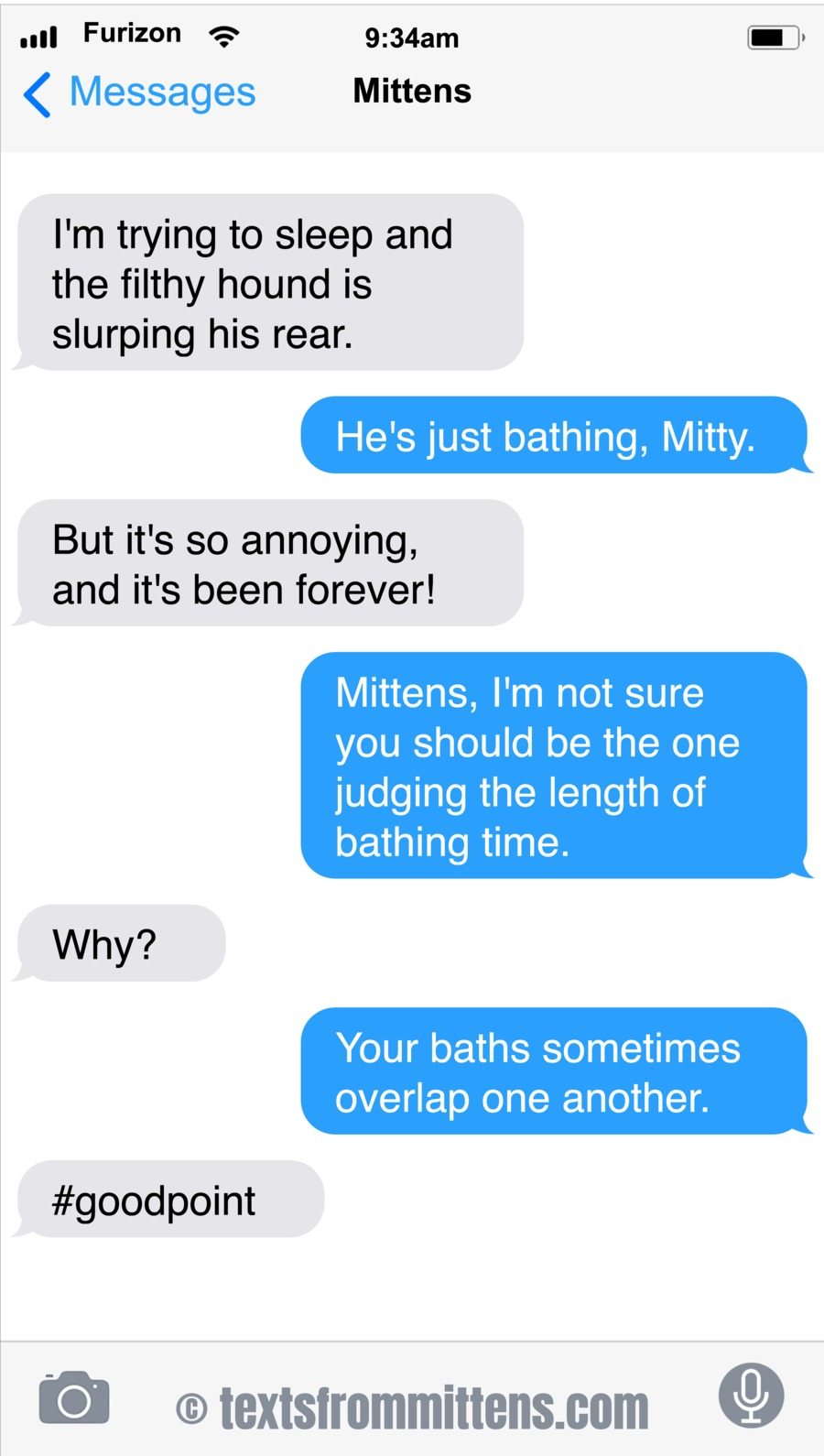 Texts From Mittens by Angie Bailey on Sun, 18 Jul 2021