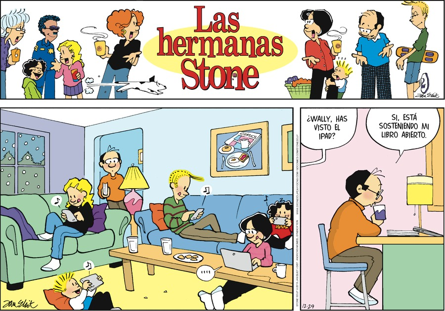 Las Hermanas Stone by Jan Eliot on Sun, 29 Dec 2019
