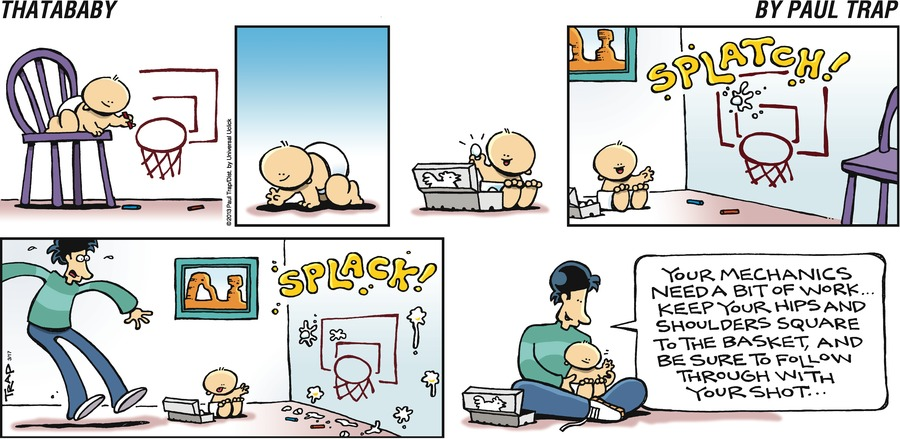 Thatababy for Mar 17, 2013 Comic Strip