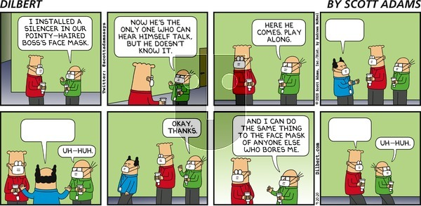 Dilbert on Sunday September 20, 2020 Comic Strip