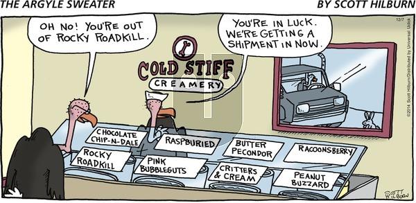 The Argyle Sweater on Sunday December 7, 2014 Comic Strip