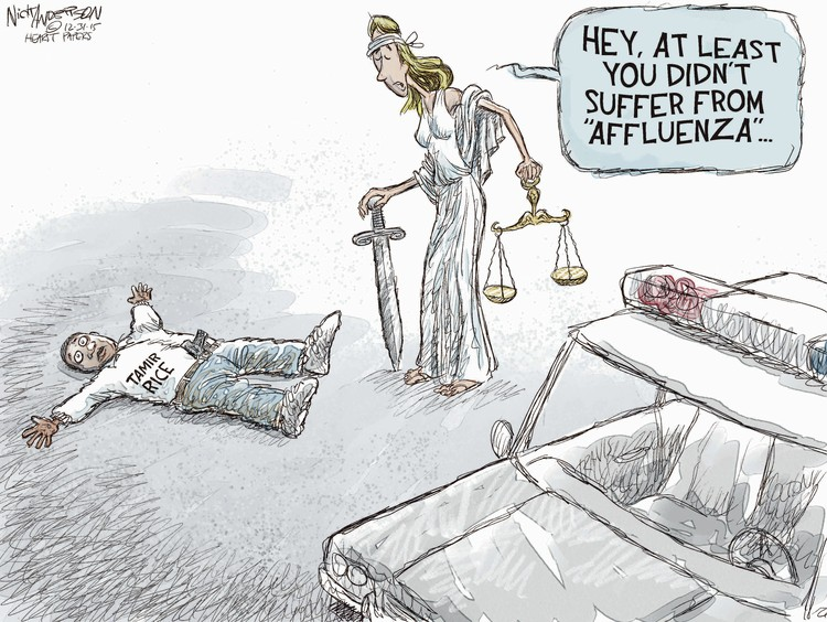 Nick Anderson Comic Strip for December 31, 2015