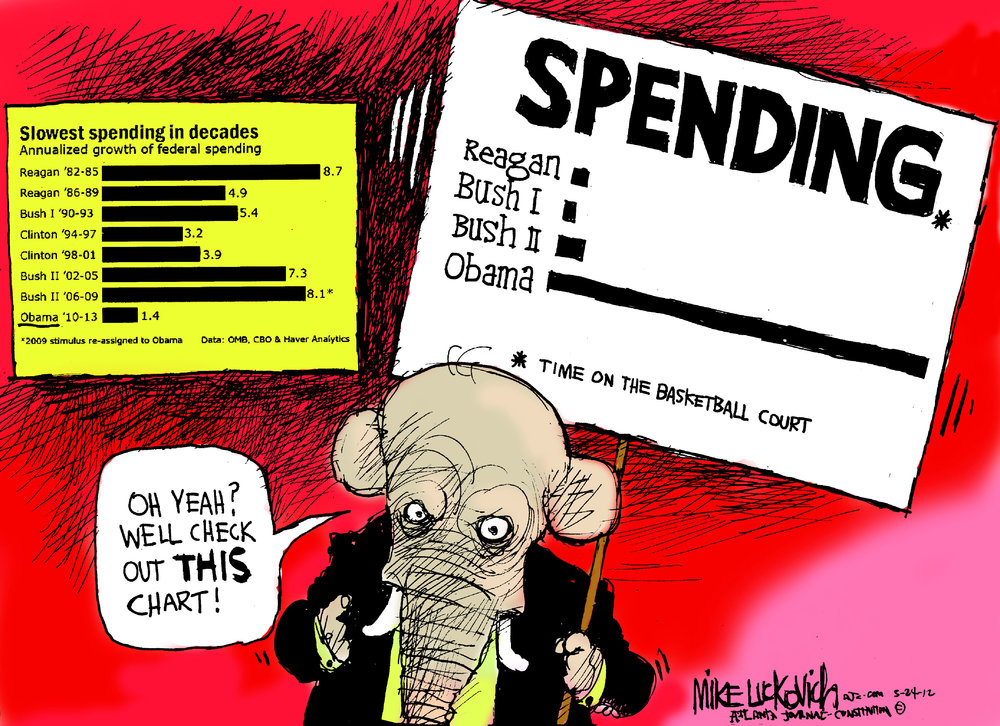 Mike Luckovich Comic Strip for May 24, 2012