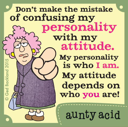 Aunty Acid Comic Strip for May 29, 2015