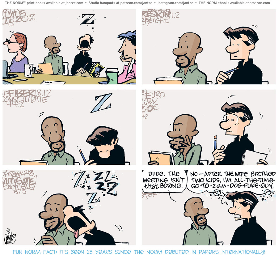 The Norm Classics Comic Strip for July 16, 2021