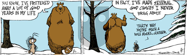 The Grizzwells on Thursday November 17, 2011 Comic Strip