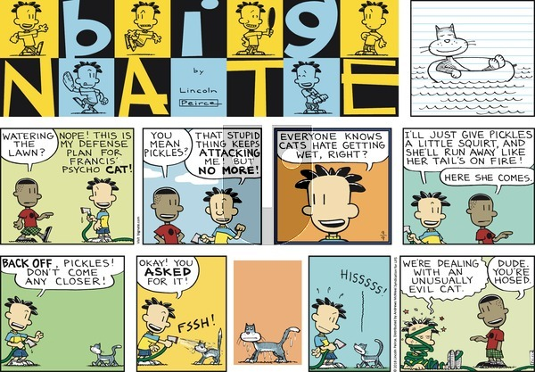 Big Nate - Sunday September 9, 2018 Comic Strip