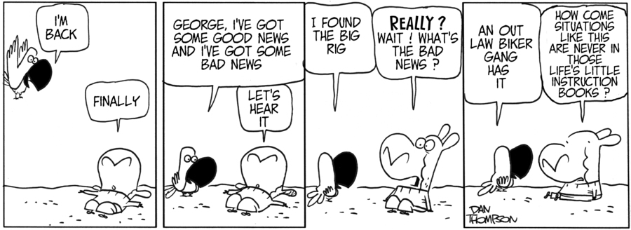 Lost Sheep Comic Strip for June 10, 2019