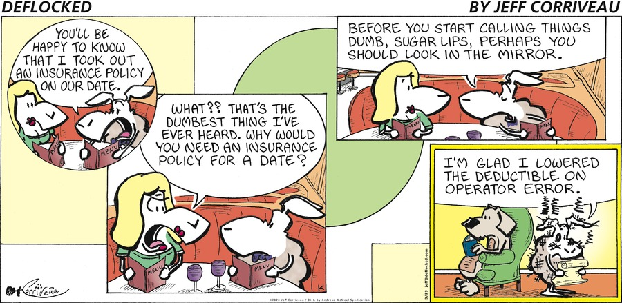 DeFlocked Comic Strip for March 29, 2020