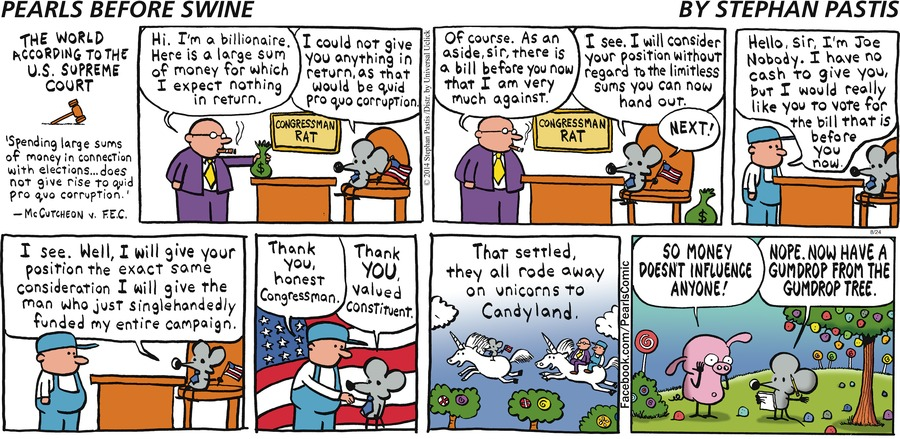 Pearls Before Swine Comic Strip for August 24, 2014