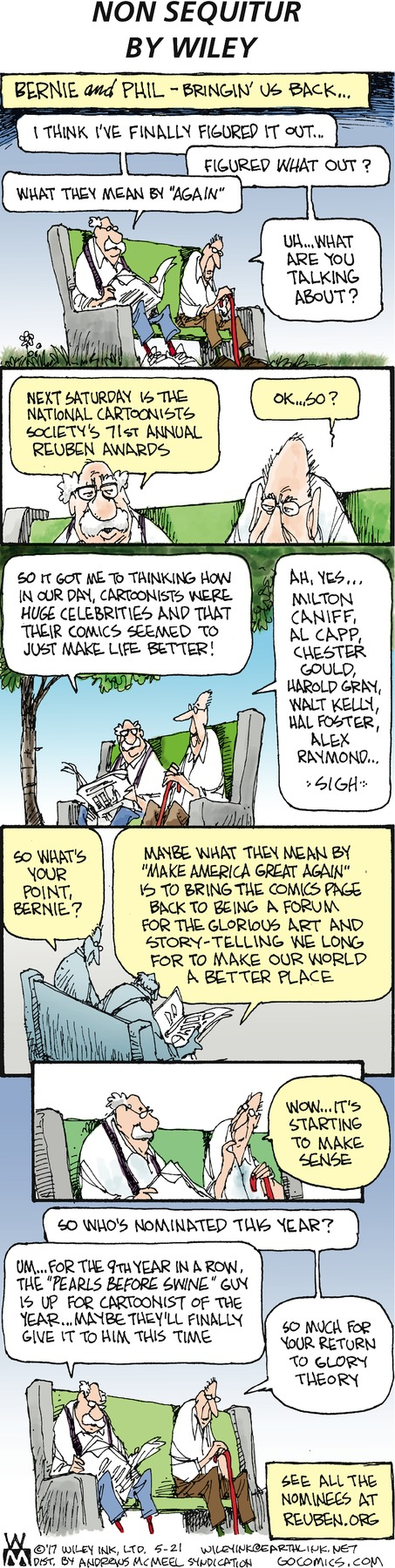 Non Sequitur Comic Strip for May 21, 2017