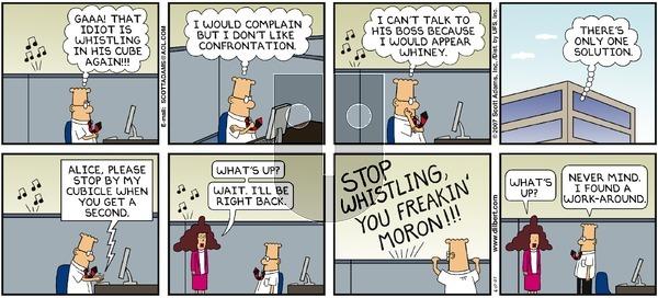 Dilbert on Sunday June 17, 2007 Comic Strip