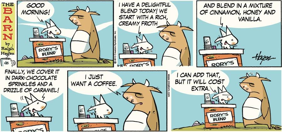 The Barn for Jun 30, 2013 Comic Strip