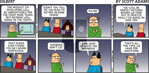 Dilbert on Sunday April 14, 2019 Comic Strip