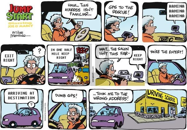 JumpStart on Sunday April 19, 2015 Comic Strip