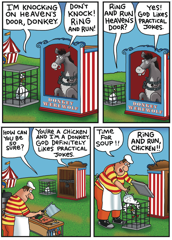 2 Cows and a Chicken by Steve Skelton for June 24, 2019